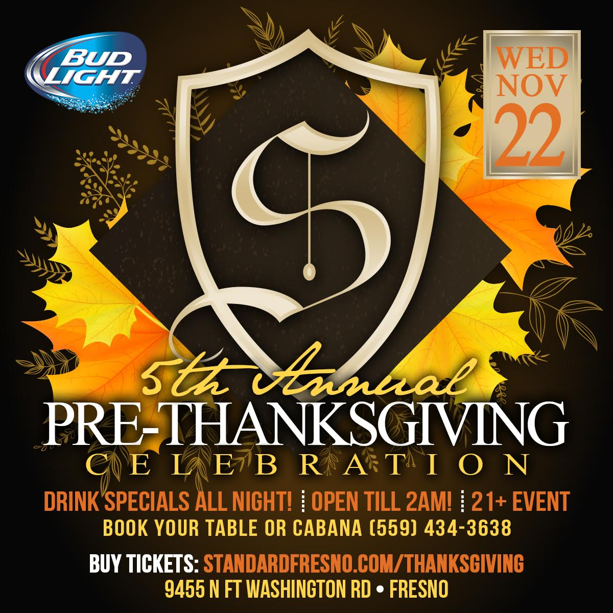 fresno thanksgiving party