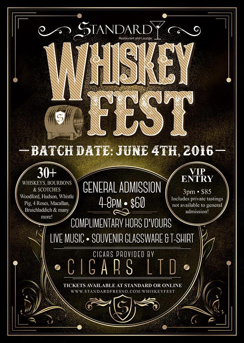 standard whiskey festival
