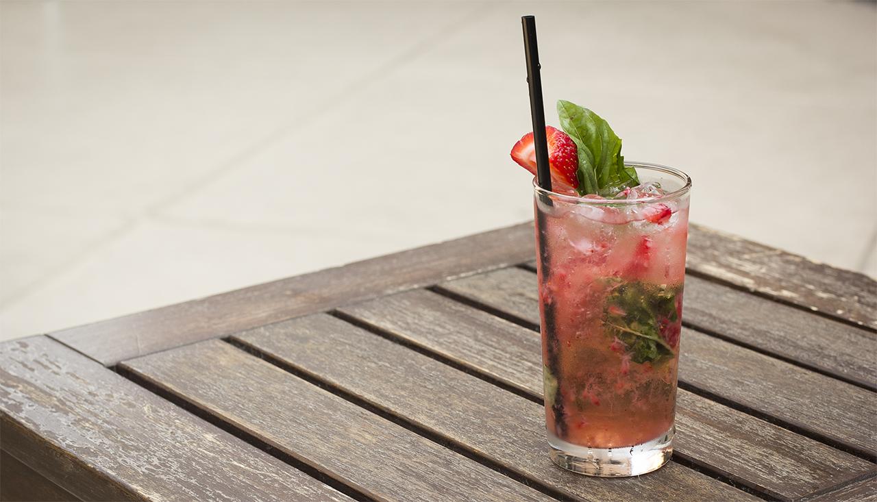 straw-basil-lemonade